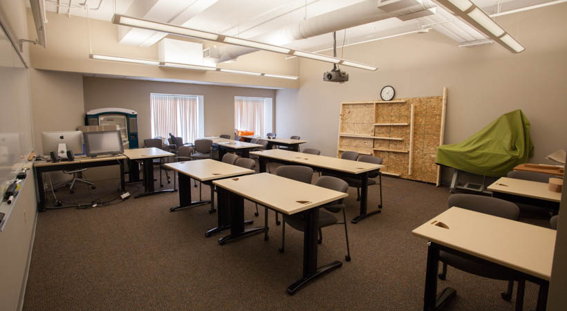 Classroom Design University : Industrial design classroom f kendall college of