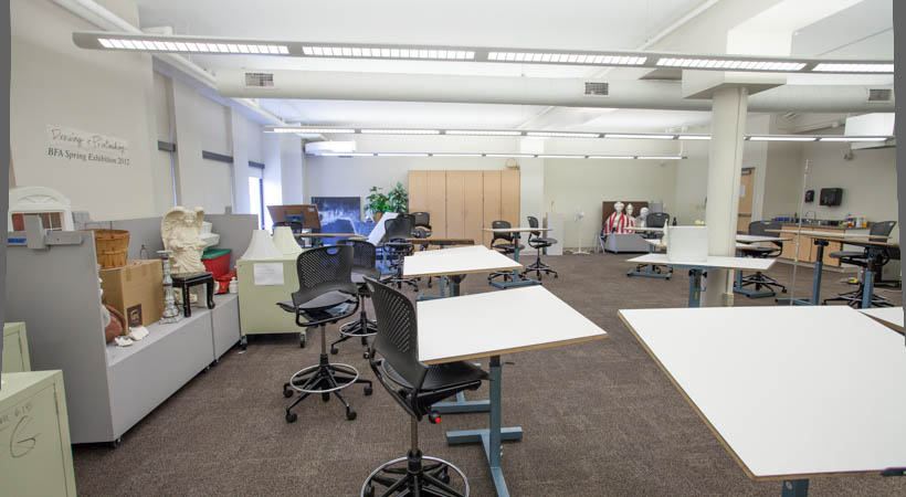 Classroom Design Experts ~ Drawing classroom f kendall college of art and