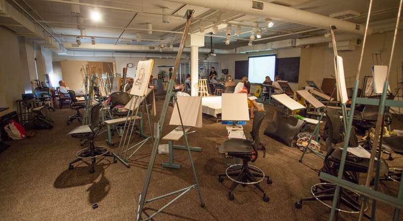Classroom Design Of The Future ~ Figure drawing classroom kendall college of art and