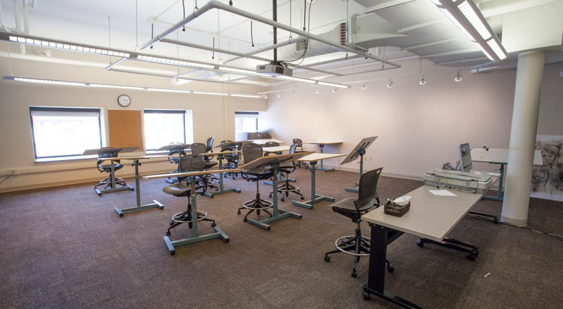 Natural Classroom Design ~ Drawing classroom f kendall college of art and
