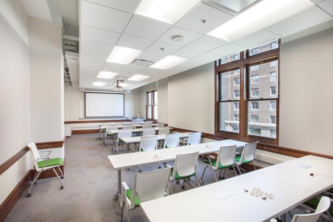 General Education Classroom WNF 232 Woodbridge N Ferris Building