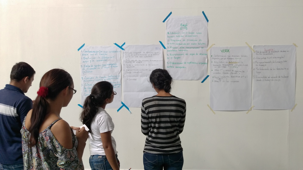 design thinking workshop in Nicaragua